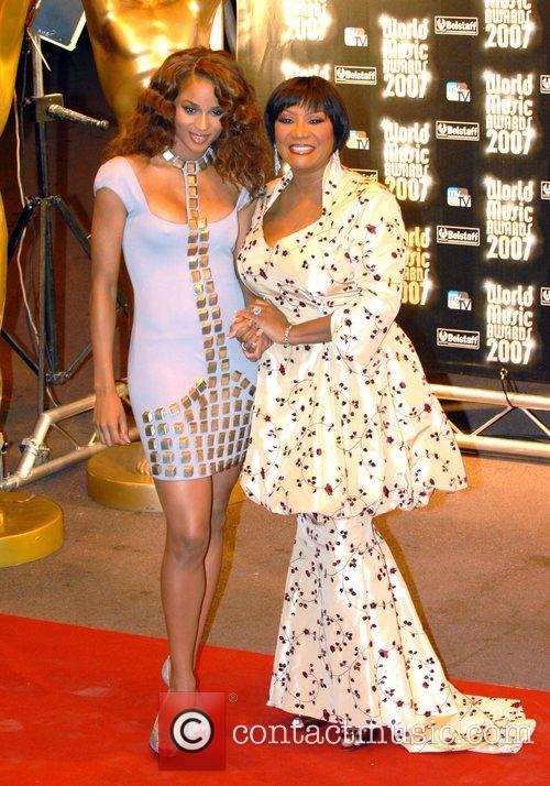 Ciara and Patti Labelle  at the 'World...