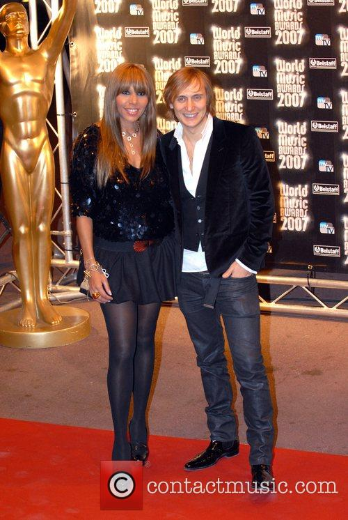 French DJ David Guetta and wife Cathy Guetta...