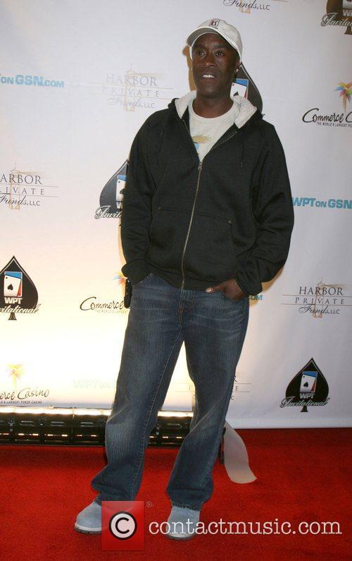 Don Cheadle 6th Annual World Poker Tour Celebrity...