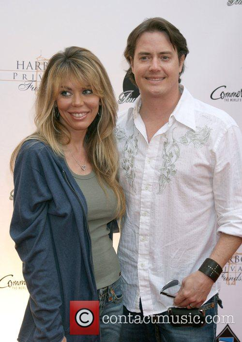 Jeremy London and wife Melissa Cunningham 6th Annual...