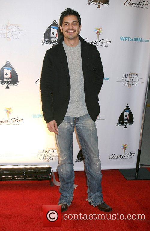 Nicholas Gonzalez 6th Annual World Poker Tour Celebrity...