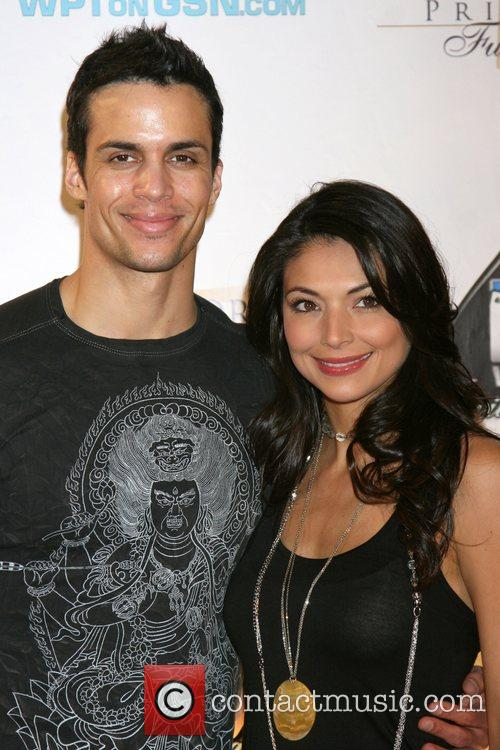 Salli Richardson and Guest 6th Annual World Poker...