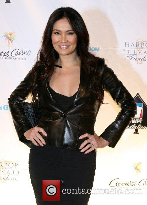 Tia Carrere 6th Annual World Poker Tour Celebrity...