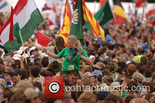 Atmosphere at the opening ceremony of the 21st...