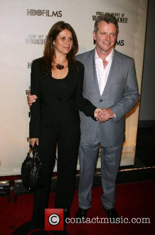 Aidan Quinn and guest World Premiere of HBO's...