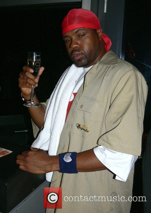 GZA of the Wu-Tang Clan Wu-Tang Clan aftershow-party...