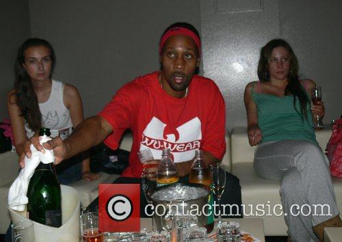 RZA of the Wu-Tang Clan and party-girls Wu-Tang...