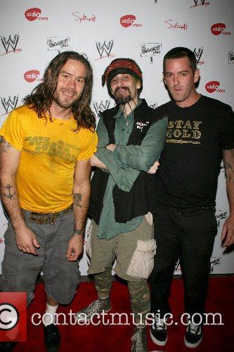 Chris Pontius and his band 'Hyenas' WWE Superstars...