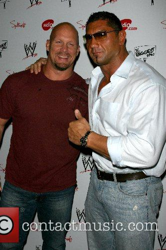 Stone Cold Steve Austin and Dave Bautista WWE...