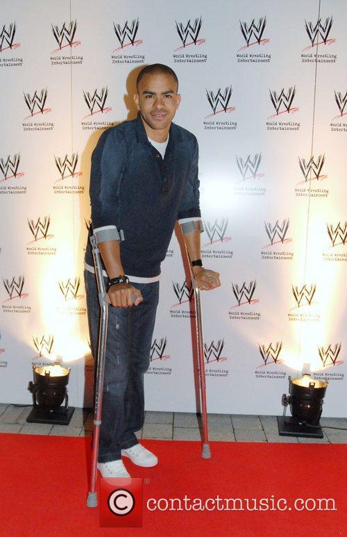 Kieron Dyer WWE presents the RAW brand at...