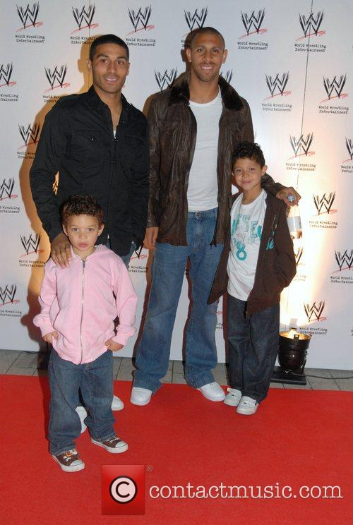 Anton Ferdinand and guests WWE presents the RAW...