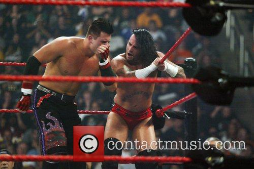 The Miz aka Michael Mizanin and CM Punk...