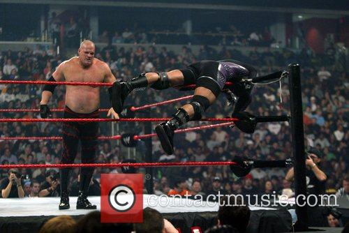 MVP vs. Kane WWE Cyber Sunday in a...