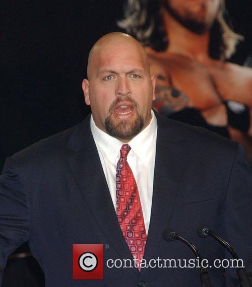 Big Show aka Paul Wight Press conference at...
