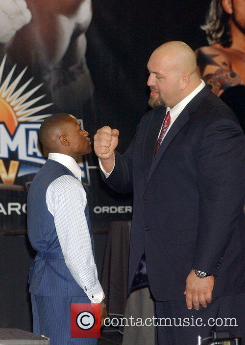 Floyd Mayweather Jr. and Big Show aka Paul...