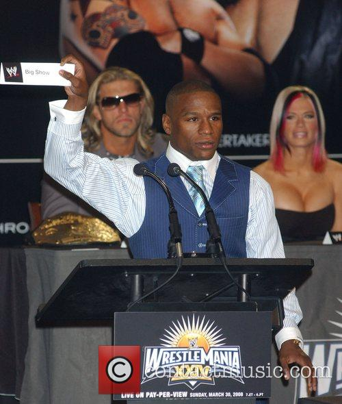 Floyd Mayweather Jr. Press conference at the Hard...