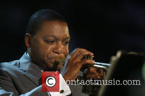 Wynton Marsalis performs during the North Sea Jazz...