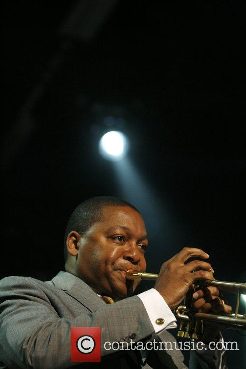 Wynton Marsalis performs during the North Sea Jazz...
