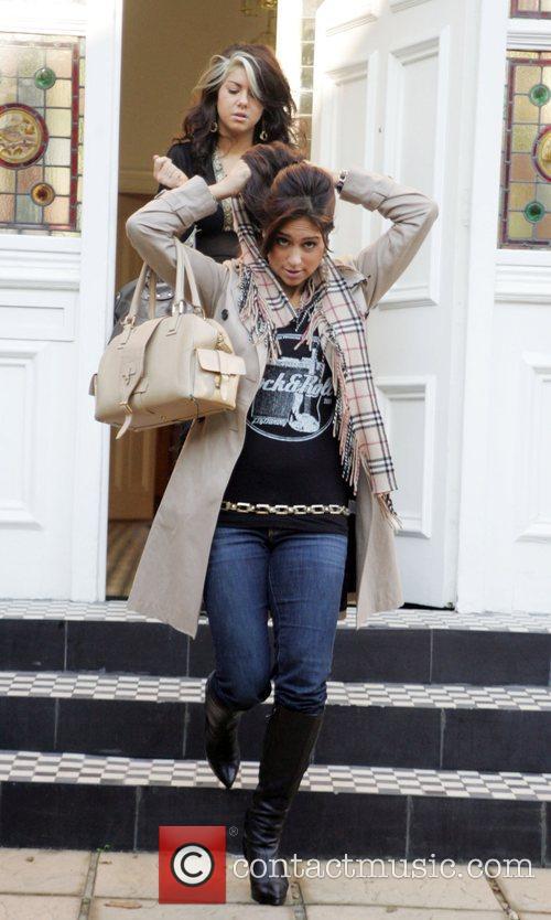 Phoebe Brown, Raquelle Gracie leaving the X Factor...