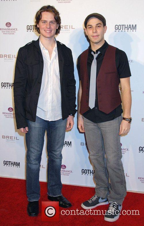 Jonathan Groff and Skylar Astin 3