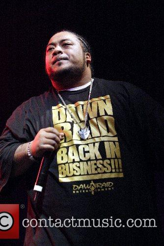 Savage performing  at the Big Top in...