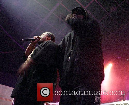 Xzibit and Savage performing  at the Big...