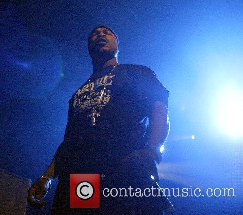 American rapper Xzibit performing  at the Big...