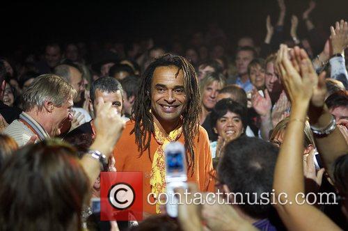 Yannick Noah performing live in concert Ezch-Sur-Alzete, Luxembourg
