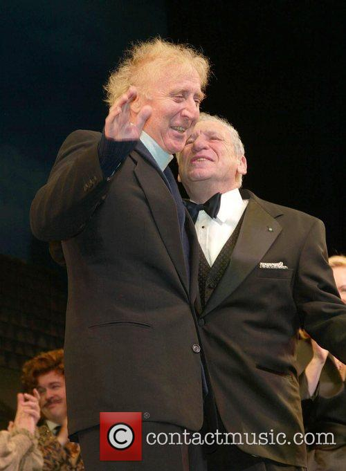 Gene Wilder and Mel Brooks 2