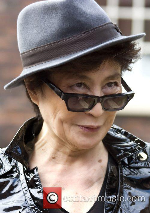 Yoko Ono at Liverpool Bluecoat Arts Centre...