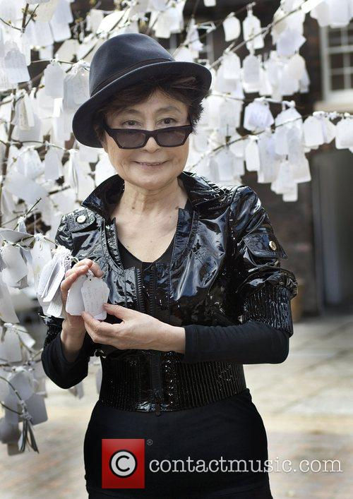 Yoko Ono at Liverpool Bluecoat Arts Centre. She...