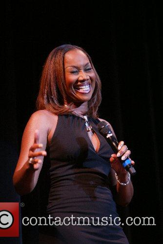 Gospel singer Yolanda Adams performing at the 30th...