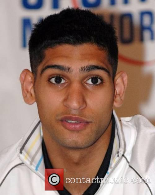 At a press conference for young british boxers...