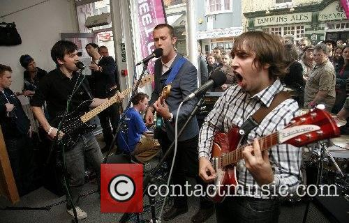 Perform a T-Mobile Street Gig at Traid as...
