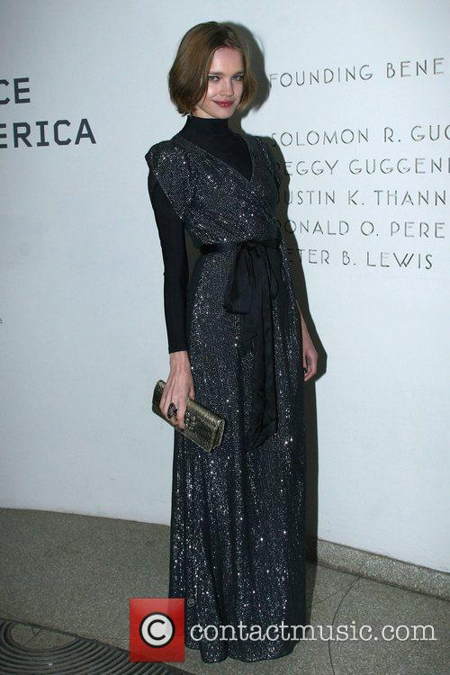 Natalia Vodianova Young Collector's Ball at the Guggenheim...