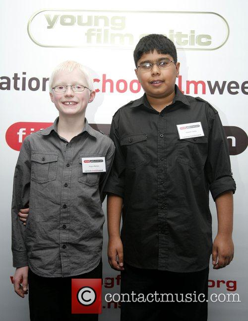 Winners Angus Morton and Sabeeh Sadiq  Young...