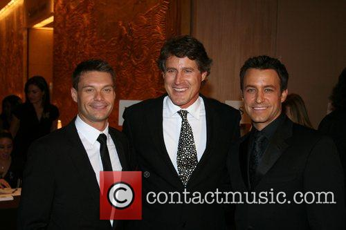 Ryan Seacrest, Tony Griffin and Ty Treadway The...