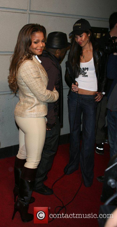 Janet Jackson, Jermaine Dupri and  Bud Select...