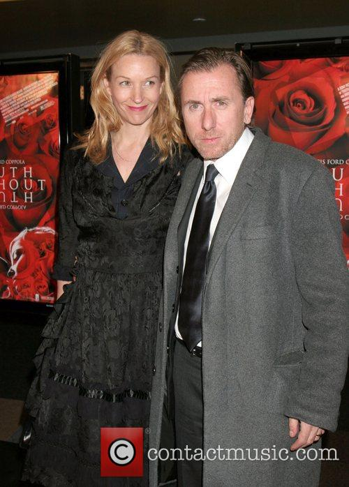 Nikki Butler and Tim Roth Premiere of 'Youth...