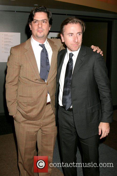 Roman Coppola and Tim Roth 1
