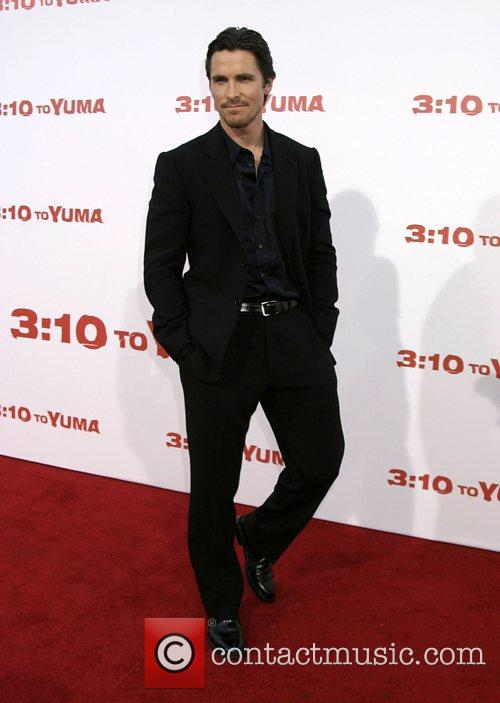 Christan Bale Premiere of '3:10 to Yuma' held...