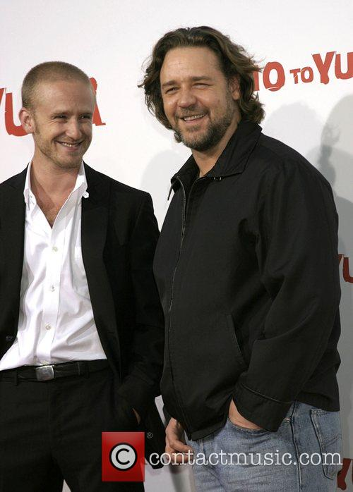 Ben Foster and Russell Crowe 2