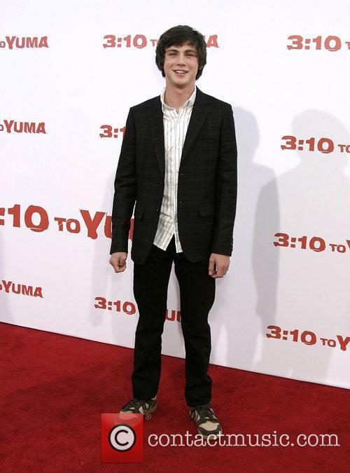 Logan Lerman Premiere of '3:10 to Yuma' held...