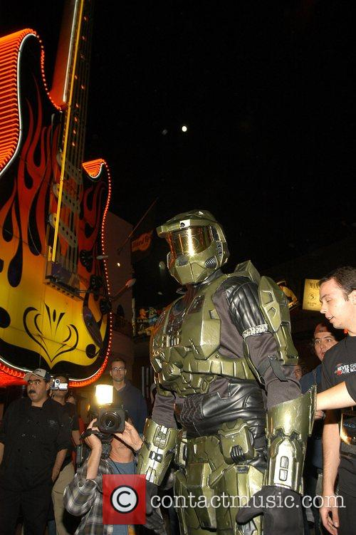 Hosting 'Halo 3' Midnight Madness Launch event at...