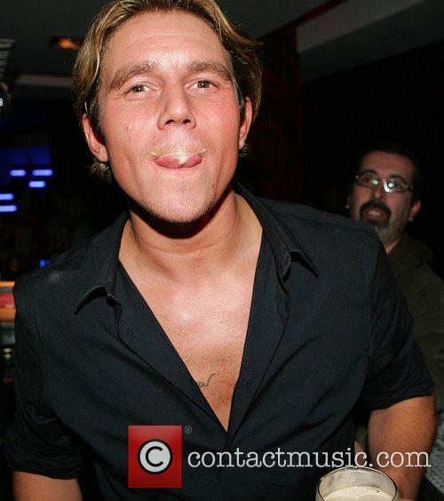 Ziggy aka Zach Lichman  drinking a pint...
