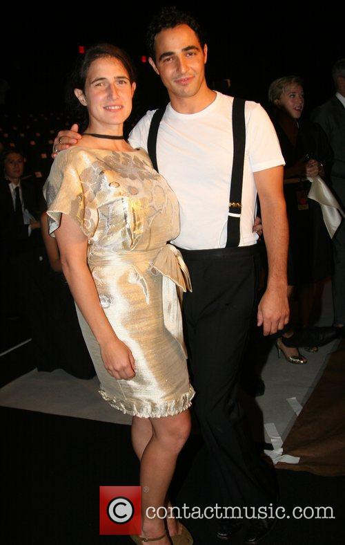 Zac Posen and sister Mercedes-Benz Fashion Week New...