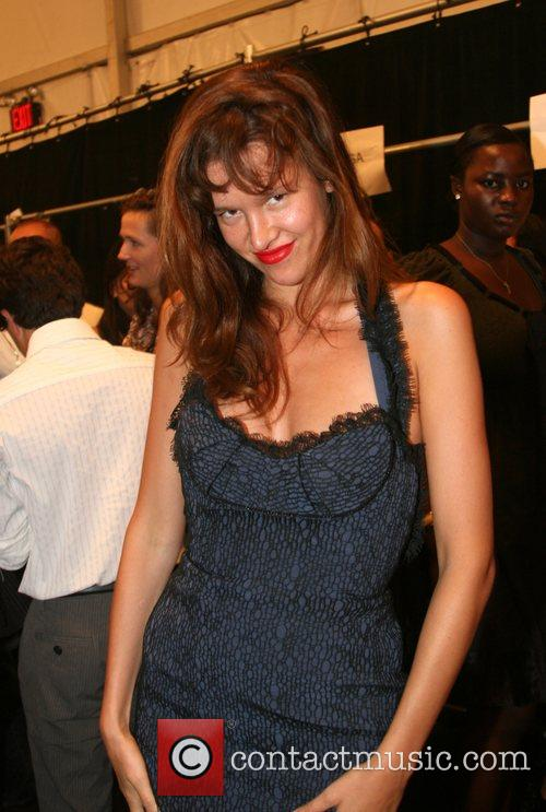Paz de la Huerta Mercedes-Benz Fashion Week New...