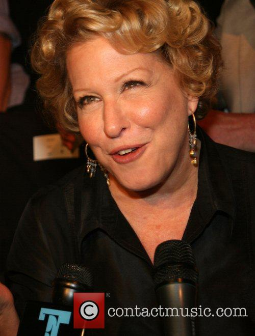 Bette Midler Mercedes-Benz Fashion Week New York Spring...