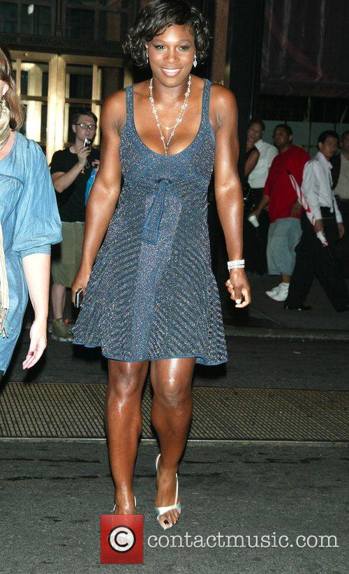 Serena Williams Mercedes-Benz Fashion Week New York Spring...