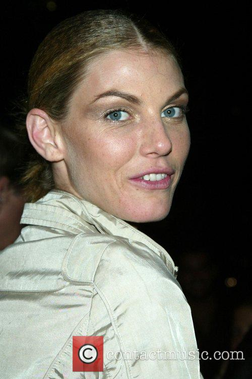 Angela Lindvall Mercedes-Benz Fashion Week New York Spring...